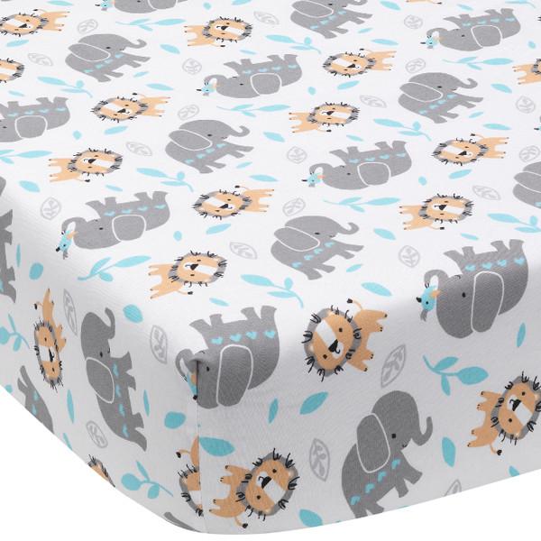 Baby Jungle Crib Bedding 3