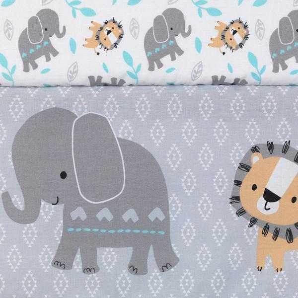 Baby Jungle Crib Bedding 4