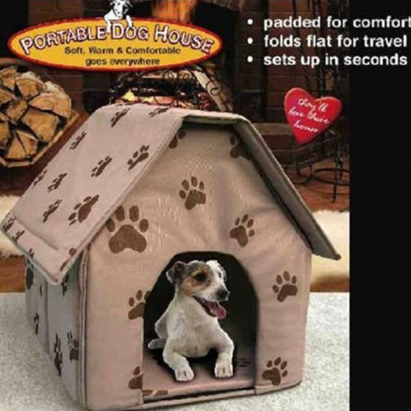 Dog Foldable House Bed
